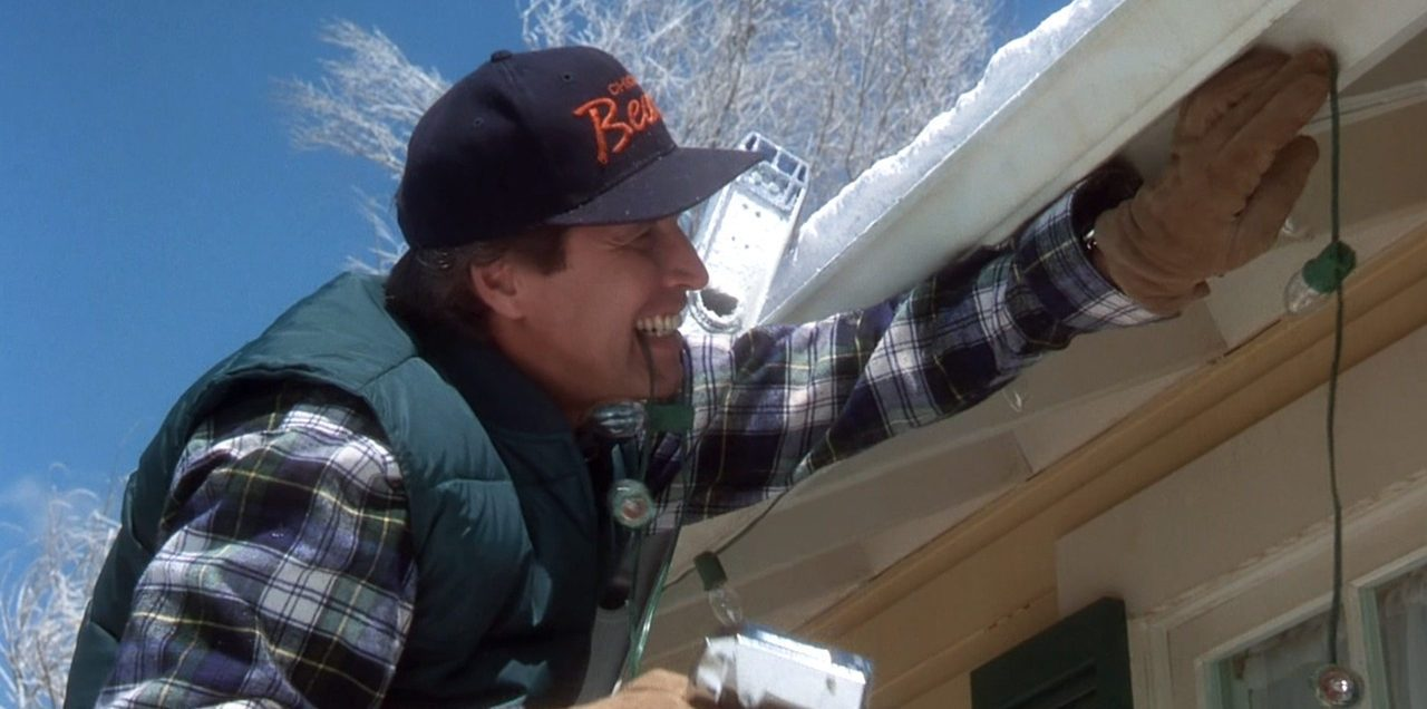 Image result for Clark griswold on ladder