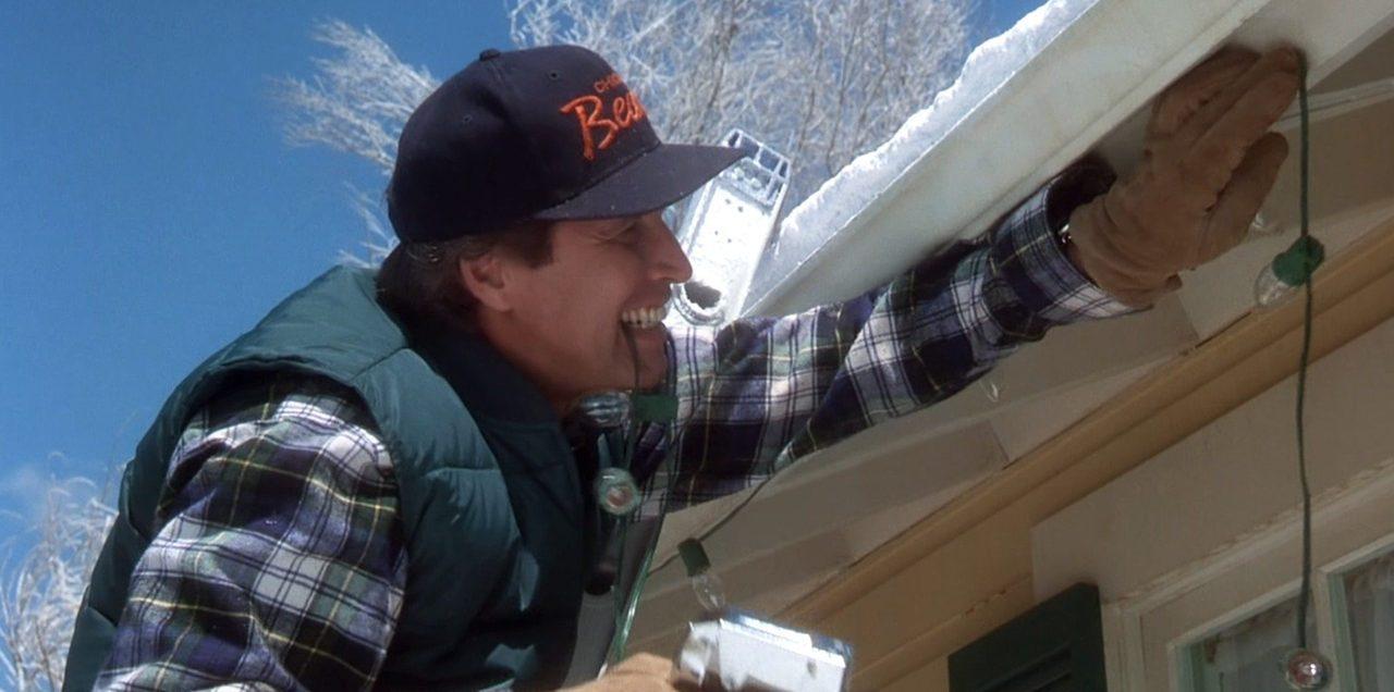Image result for Clark griswold on ladder
