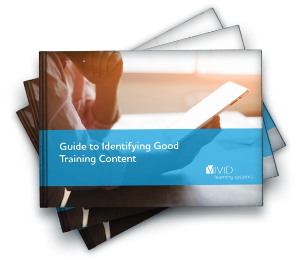 Guide to Identifying Good Training Content